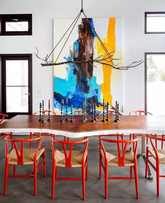 30款最美餐廳背景牆設計······