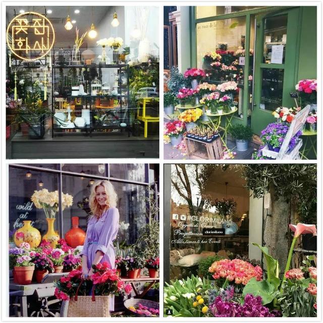 全方位教你如何裝修一個漂亮的花店