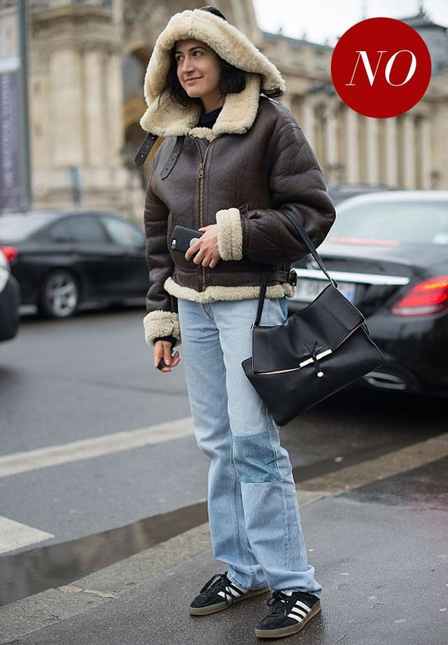 選對版型也要搭對鞋這可能是最全的牛仔褲攻略