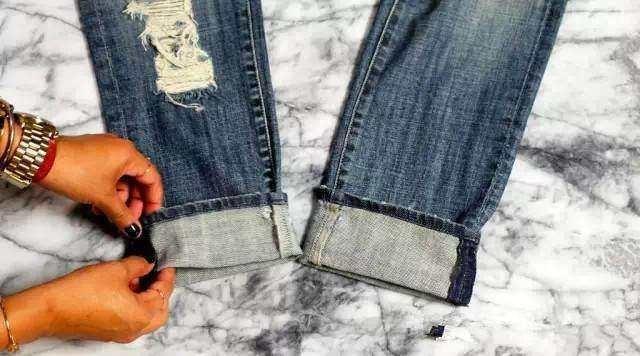 褲腳太長太邋遢? 6種卷褲腳方法附帶gif動圖教程,你一看就懂