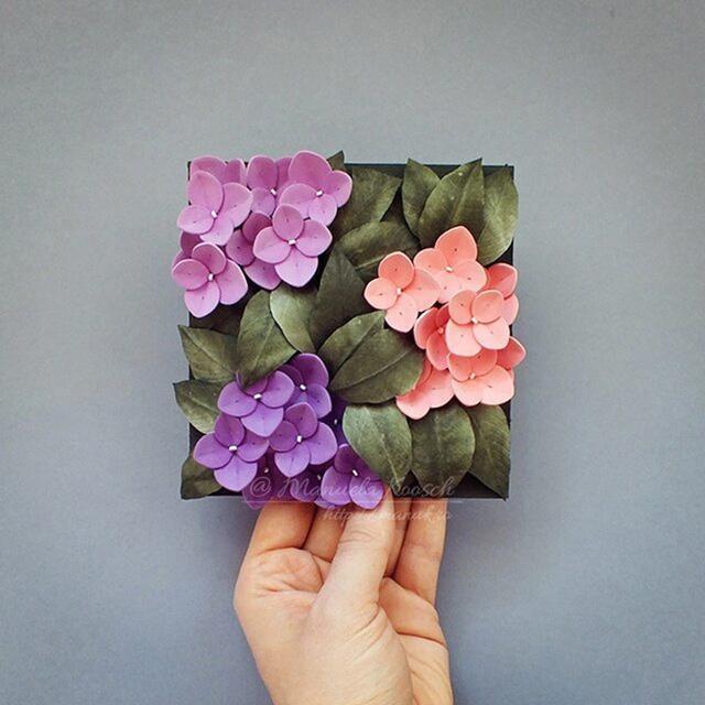 美出新高度的衍紙植物,美得不像話