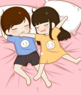 十二星座專屬情侶睡姿,天秤座熱戀擁抱式,天蠍座的連體嬰式