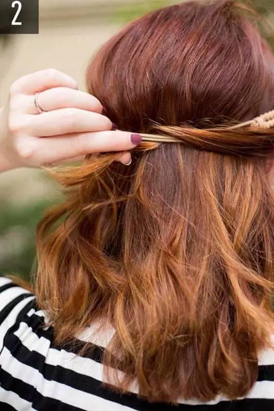 懶女孩一定要學這5款髮型,簡單又漂亮,美哭了!