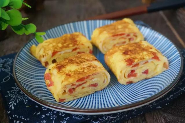 雞蛋和西紅柿的新吃法,早餐吃這個又營養又簡單,孩子很喜歡吃!