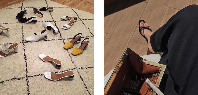 今年夏天只想要一雙時髦的方頭涼鞋