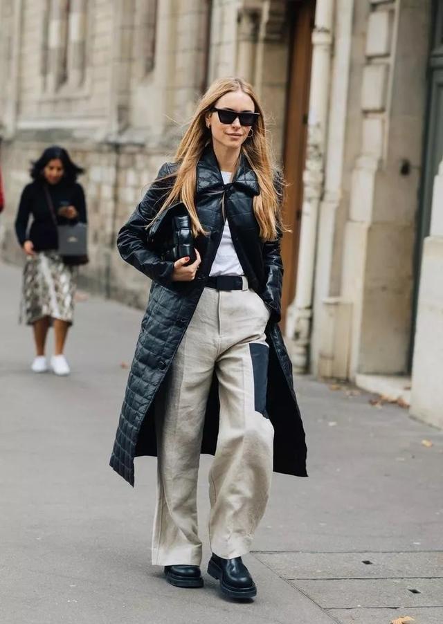 高清時尚達人們穿搭街拍圖