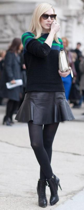 女生千萬別亂穿黑色絲襪,這樣穿才是最好看的!