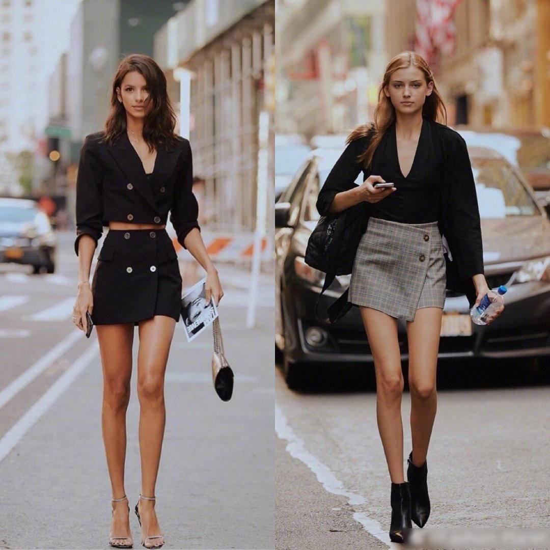 一共22位紐約麻豆時尚街拍,有11位穿黑色靴,百搭利器巨顯腿長