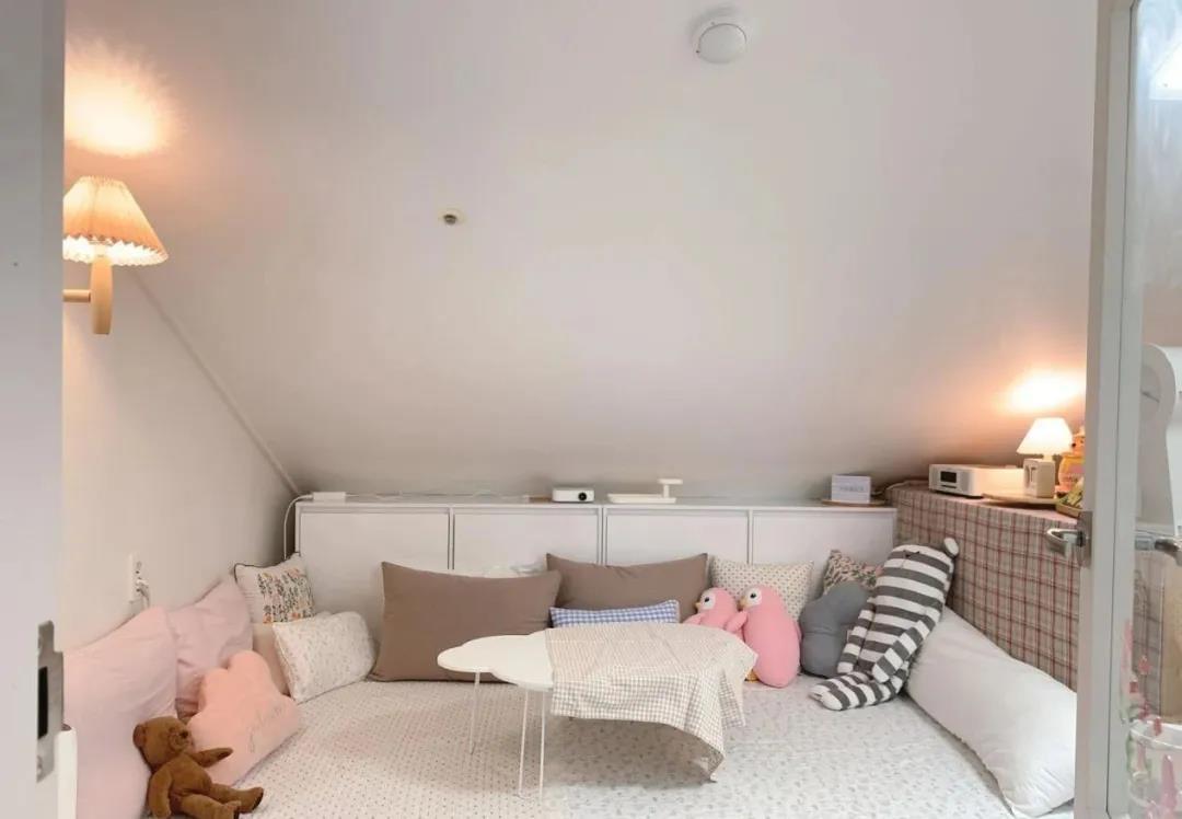 88㎡小複式,半買半送的頂樓+露台,比大別墅還舒適