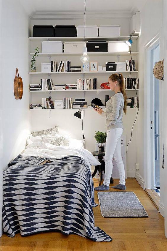 再小的房間都有救!布置達人出手臥室神奇大變身