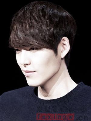 韓國男生流行短髮圖片 清爽髮型塑造魅力潮男