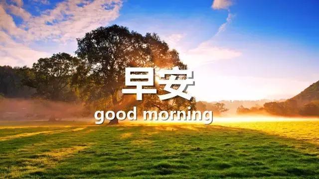 早安圖片唯美早安唯美圖片