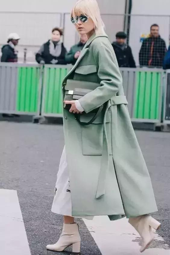 不同身高怎麼選大衣,王子文把自己穿成了170cm!