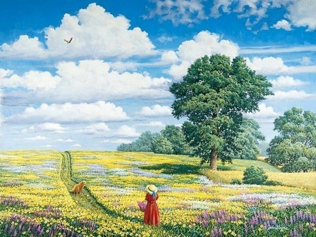 在逆境中欣賞快樂,在磨難中品味快樂