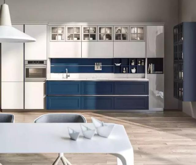 30個藍色系廚房設計,呈現別樣的靈動與清澈