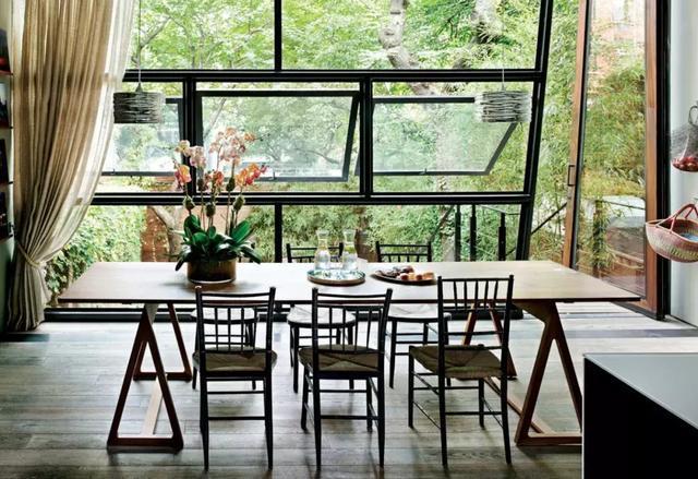 家裡有這樣餐廳,還要什麼書房!