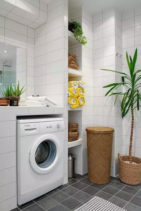 糾結洗衣機放哪? 看看別人家的真實案例
