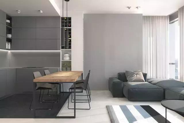 家居極簡風只有黑白灰? 還可以如此溫馨時尚