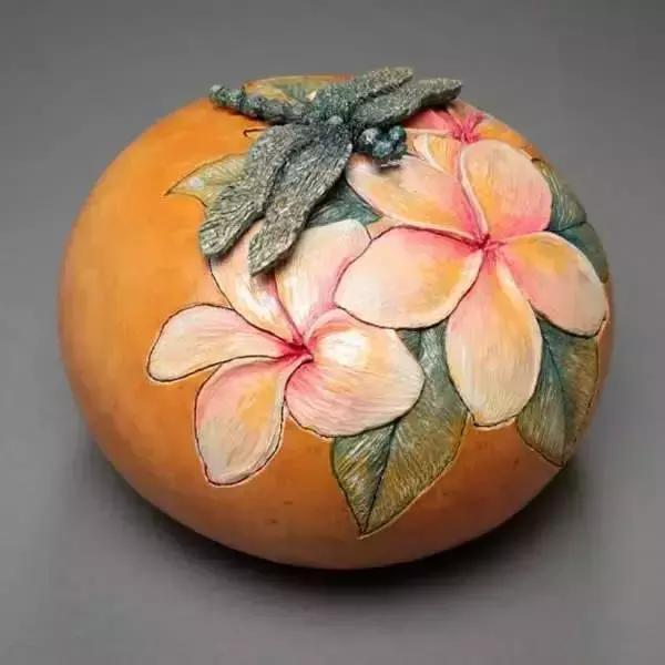 精緻的葫蘆,雕刻的藝術