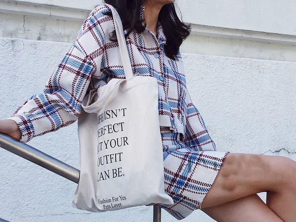 只需一個帆布袋,Effortless Chic風就能輕鬆打造出來!