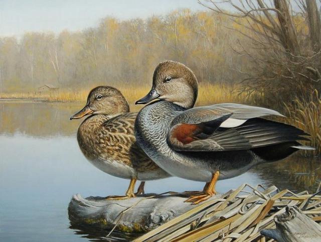 美國畫家GeorgeLockwood繪畫作品