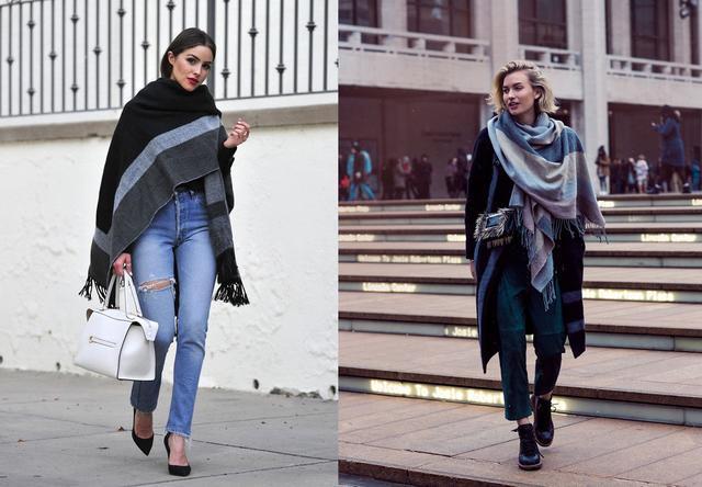 保暖舒適的圍巾配飾,讓你普通的穿搭更加時髦,展現優雅氣質