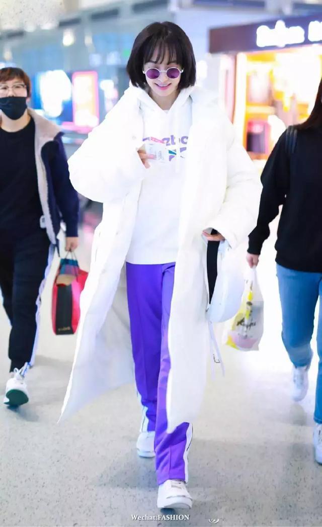 想給穿白外套的何穗撒花,太美了!