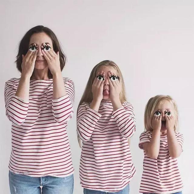 母女三人爆紅網絡,網友直呼:又來騙我們生女兒