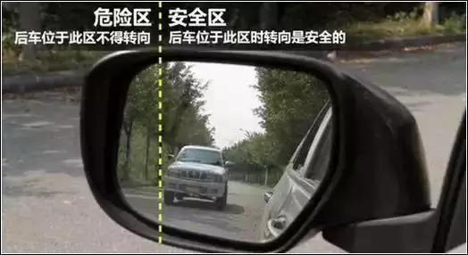 """學會這樣使用後視鏡,判斷車距一個""""準""""!"""