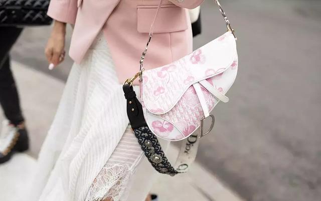 2019年Dior最值得投資是什麼? 是這只美炸了的馬鞍包